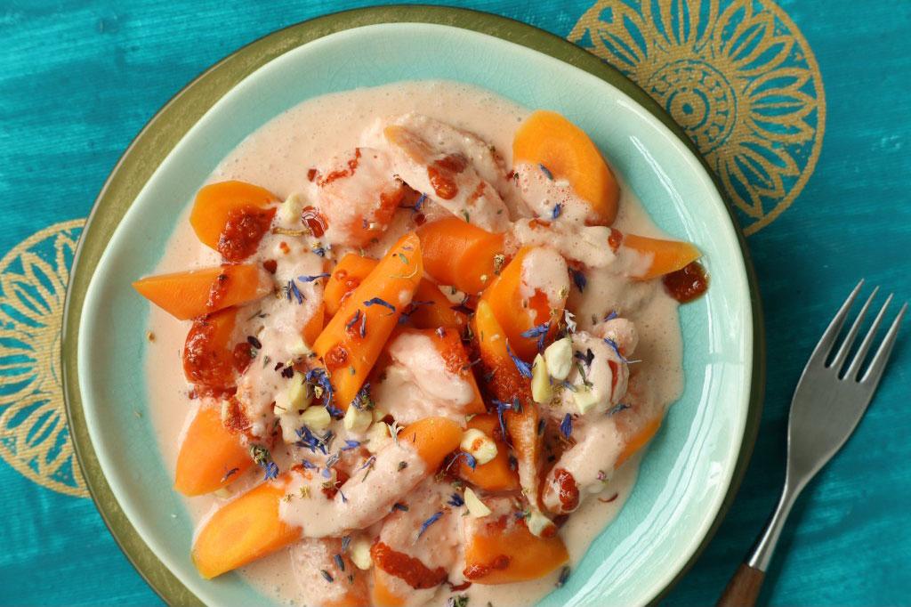 Indisches Karottengemuese