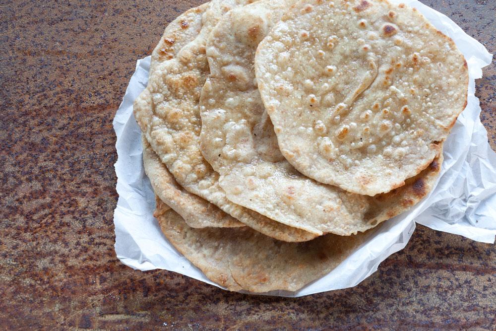 Indisch Food Rezept Shooting