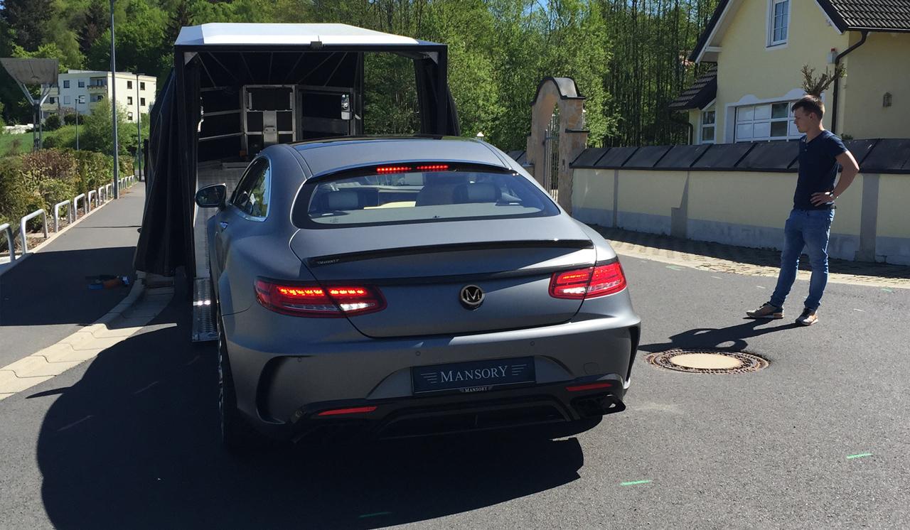 Mansory S-Klasse Coupé Making Of