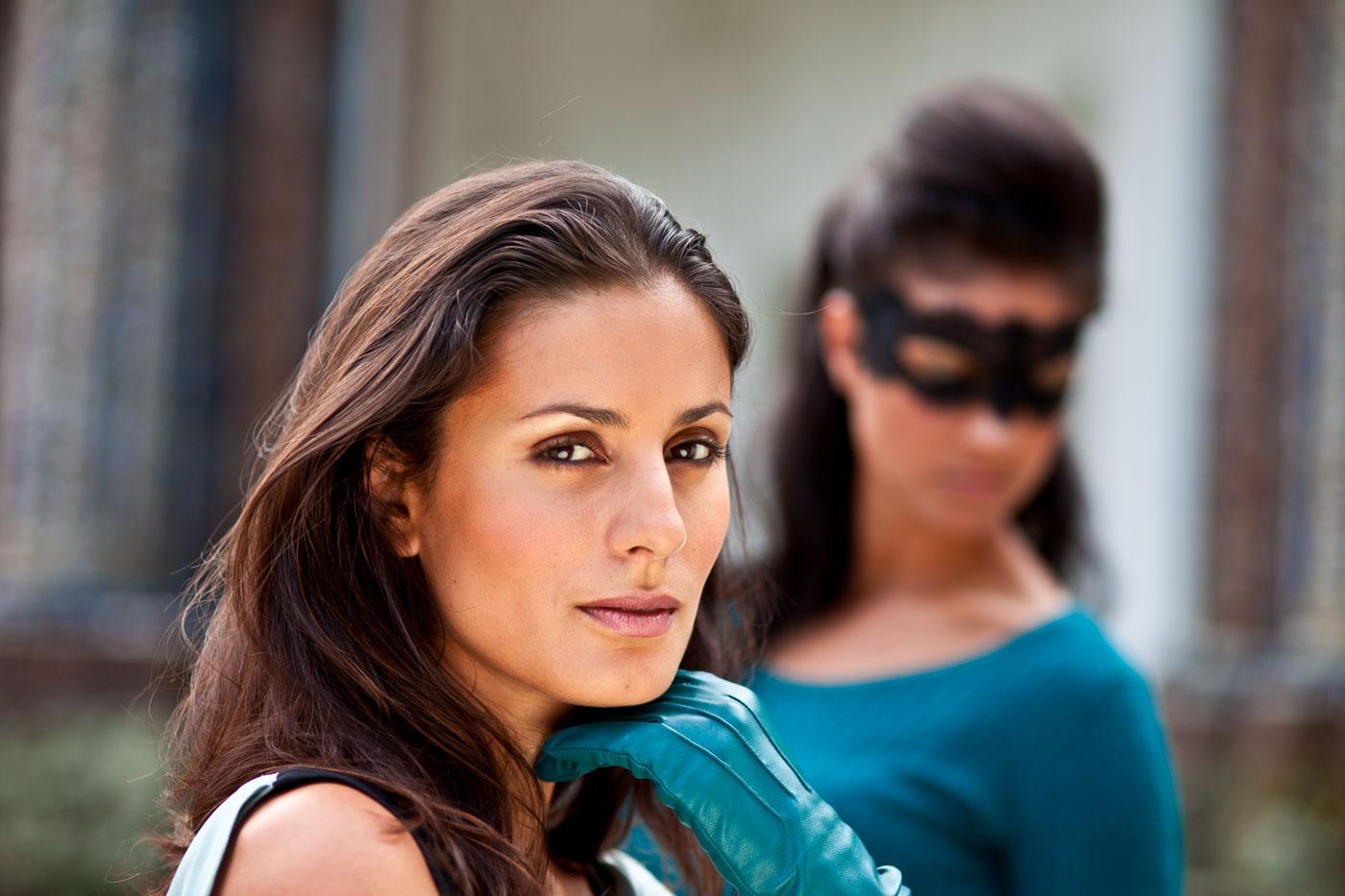 Medi Mask Glamour Model Bayreuth Eremitage