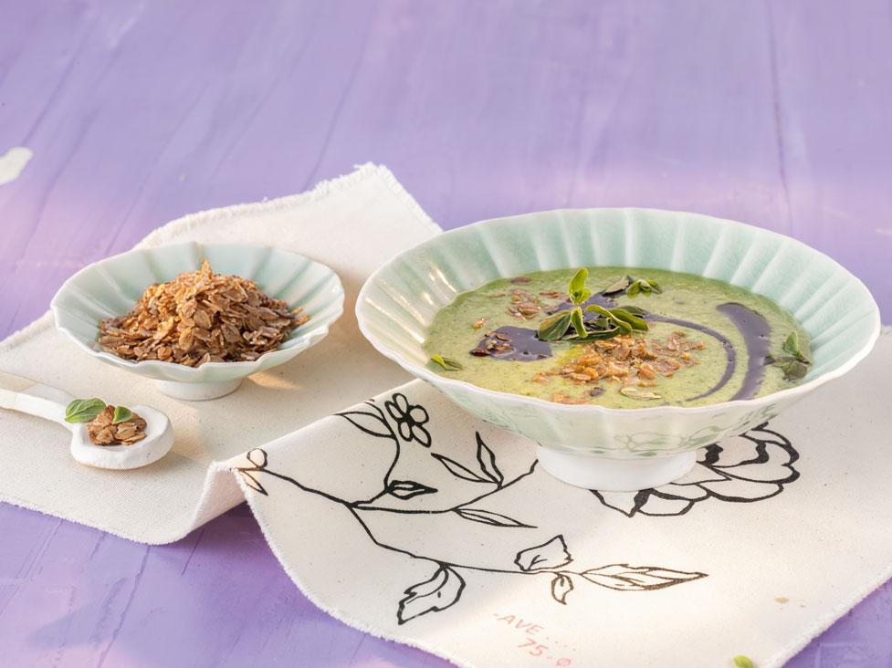 Suppe - dekoriert
