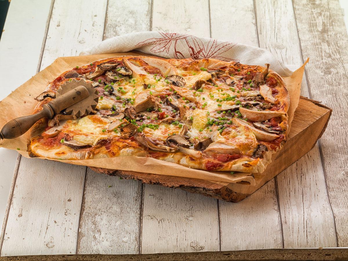 Pizza - dekoriert