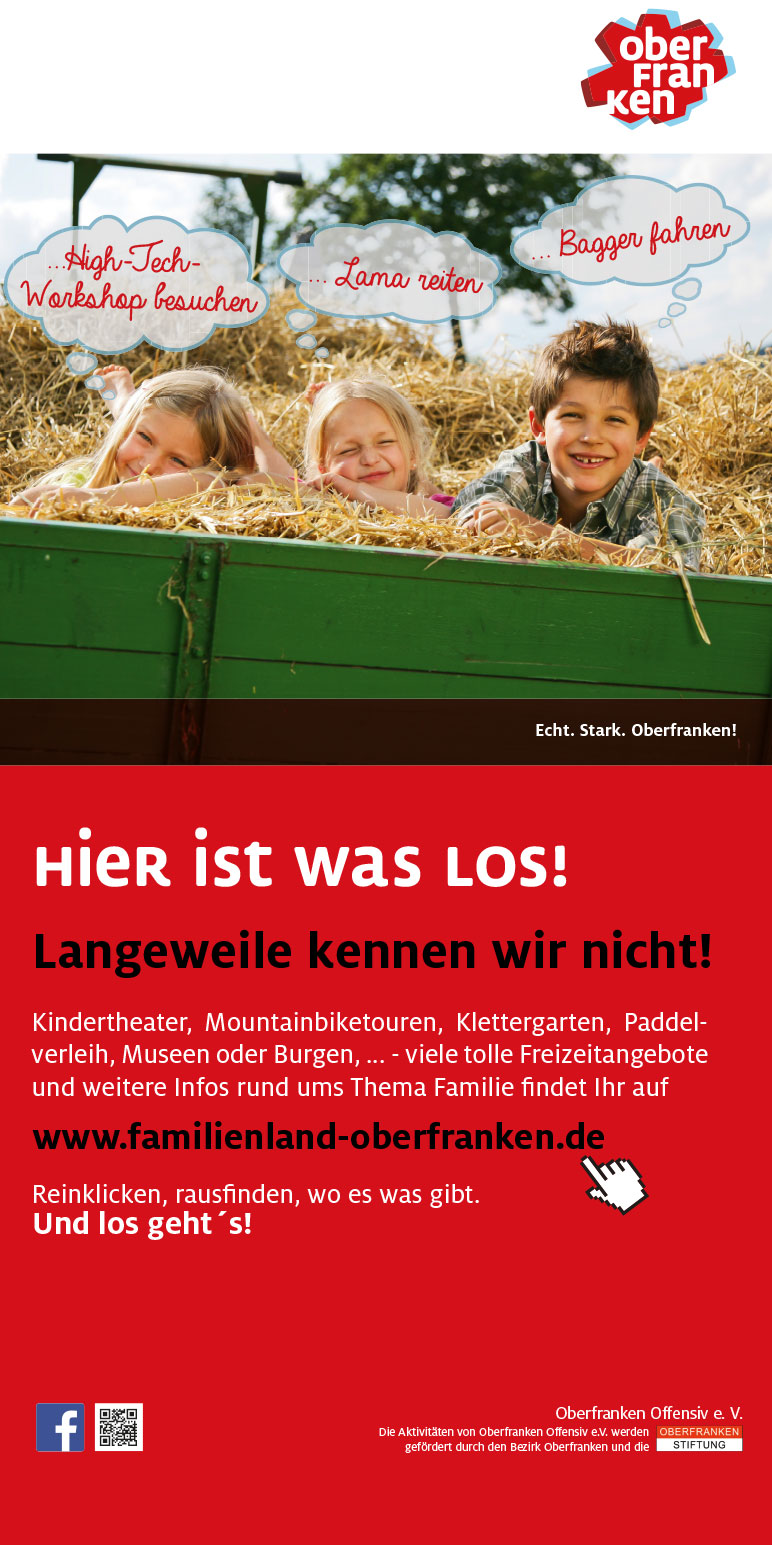 Oberfranken Offensiv Anzeige Famile Regional