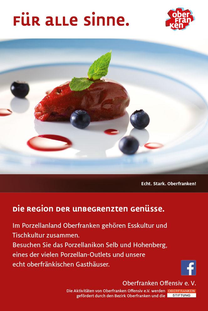 Oberfranken Offensiv Anzeige Genuss Regional Porzellan